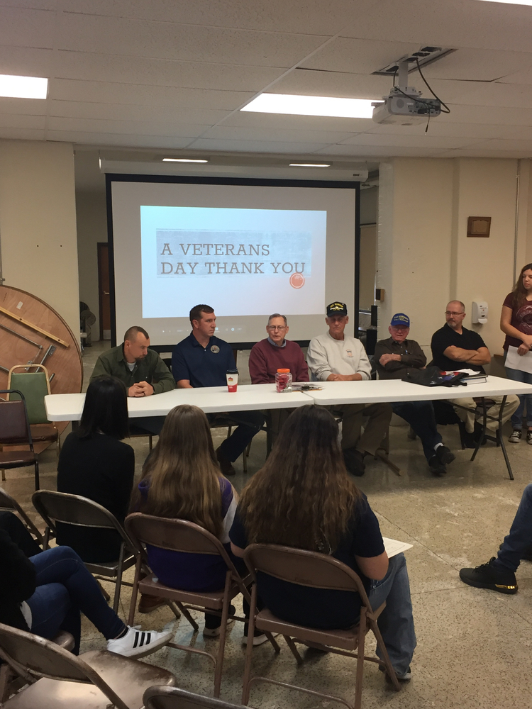 HS Civics Class Pays Tribute To Local Veterans