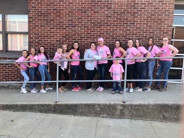 SEB Jr. High Cheer Pink T-Shirt Fundraiser
