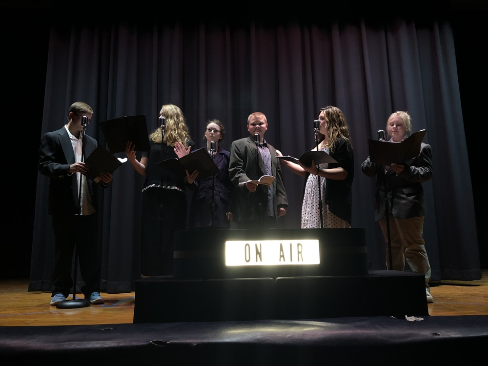 "SEHS Drama Presents ""It's a Wonderful Life, A live radio play!"""