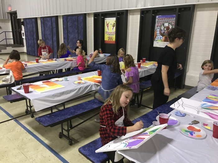 Stang Art after school program