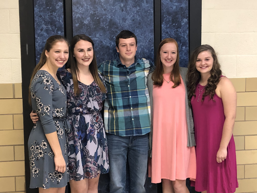 Senior Inductees for NHS