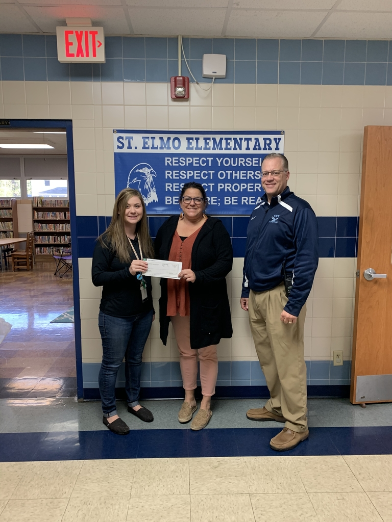 Thanks to Dieterich Bank for the $200 grant that will go towards our new sensory room.